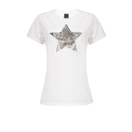PINKO - T-Shirt RADIARE Bianco