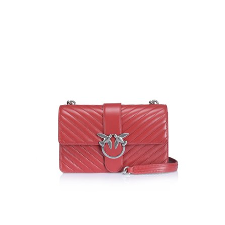 PINKO - Borsa LOVE BAG MIX Rosso