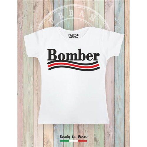 NARCISO - BOMBER White
