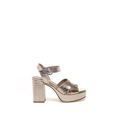 JANET & JANET - Sandalo REENA Platino