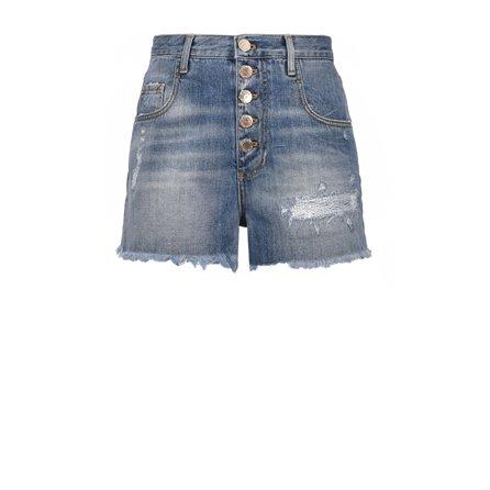 PINKO - Shorts DIDO Blue