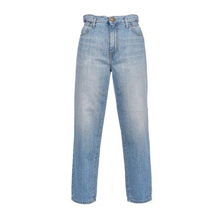 PINKO - Jeans FLEXI MADDIE MOM Light Blue