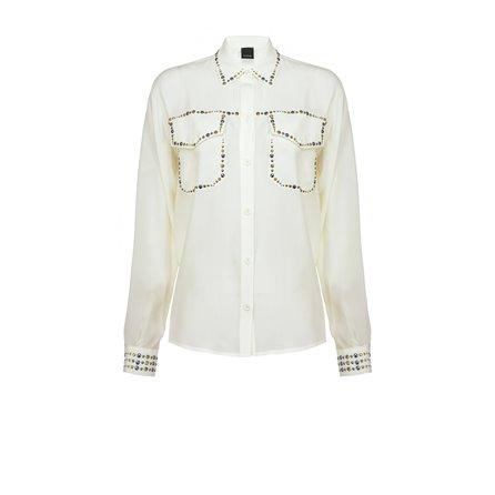 PINKO - Camicia RILASSATO Bianco