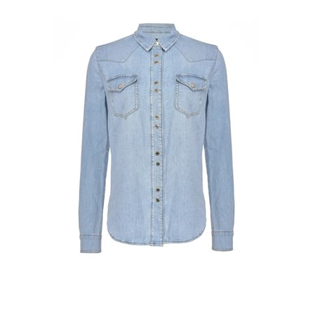 PINKO - Camicia CAROLINE 4 Blue