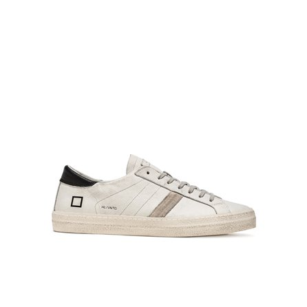 DATE - HILL LOW VINTAGE CALF White Black