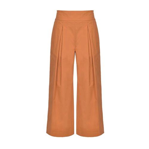 PINKO - Pantalone TESO 4 Brown